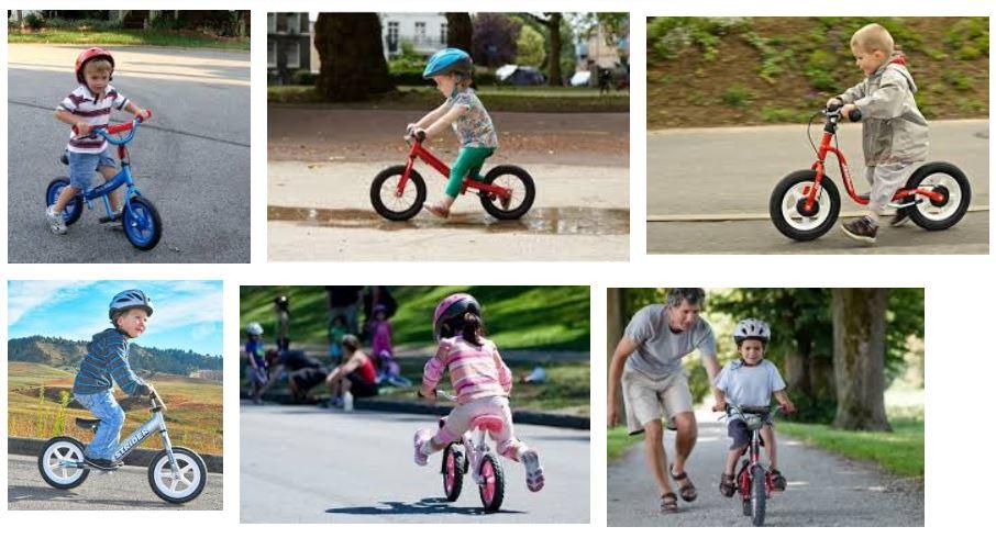 bicicletas aro infantil sin ruedas