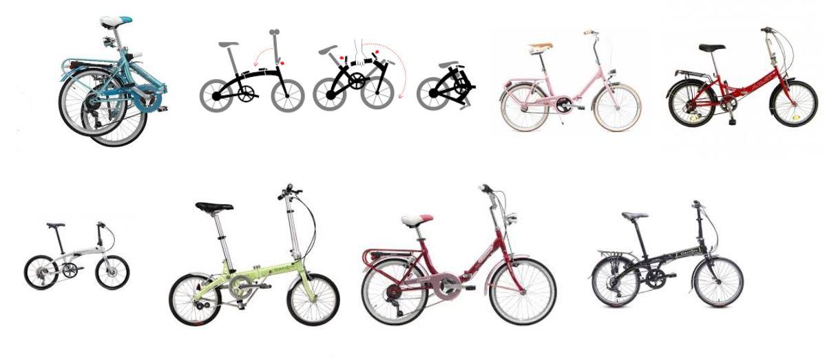 bicicleta aro plegable