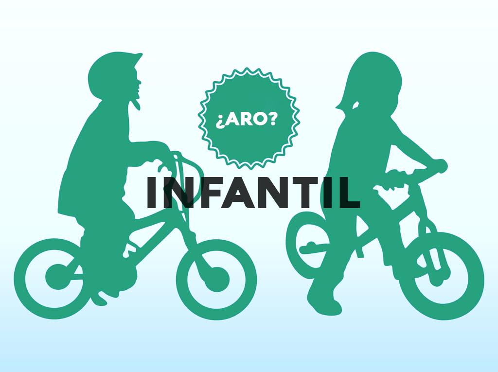 bicicletas aro infantilles infantil