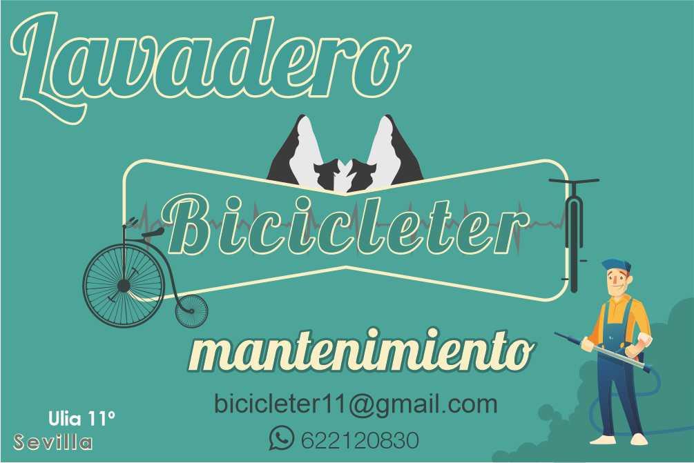 Servicio de lavado de bicicletas en Sevilla